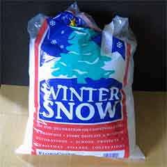 Snow by the bag